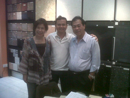 With Mr. KK Lim From Singapore
