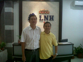 With Mr Lee from Malaysia