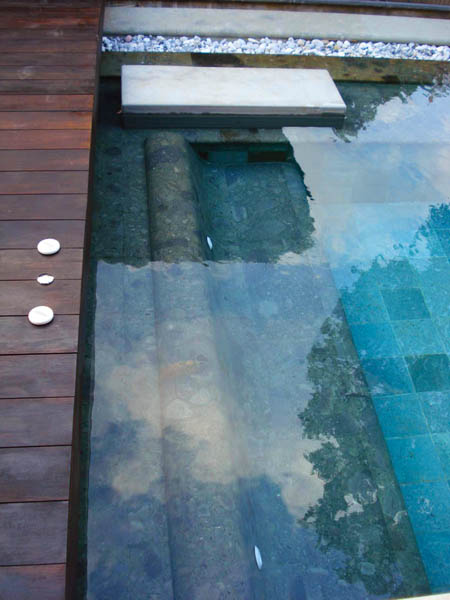 Bali Green Stone For Pool Bench