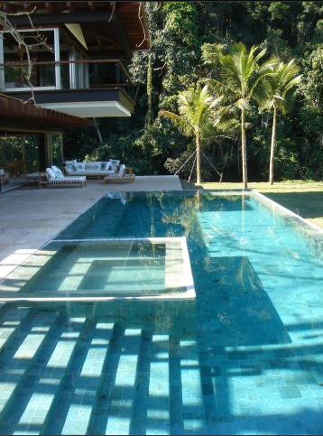 Pedra hijau verde a beautiful green natural stone for Green garden pool jakarta
