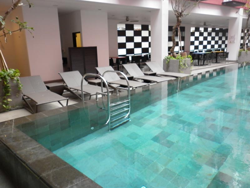 Green sukabumi stone indonesia natural stone manufacturer for Indoor swimming pool in jakarta
