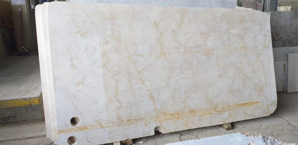 indonesia cream marble slabs
