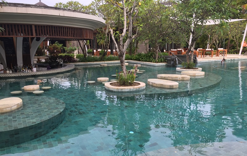 Bali Green Stone – The Fantastic Green Pool Views at Sofitel Nusa Dua Resort, Bali