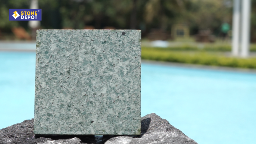 Green Sukabumi Stone as the Beauty of Indonesia Nature