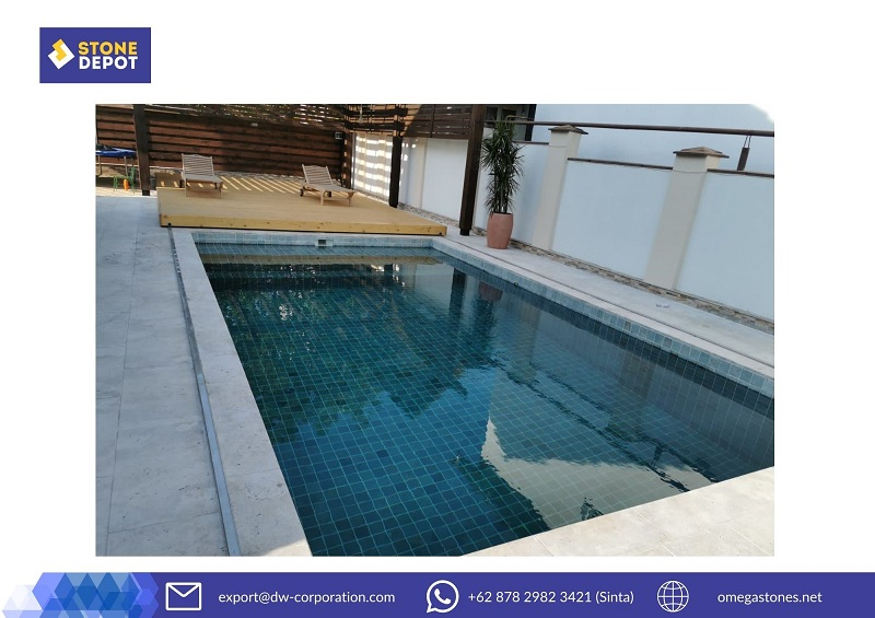 Top 4 Summer Pool Collection with Bali Natural Stone